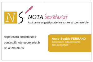 Anne Sophie Secretaire Independante Dans LYonne 89